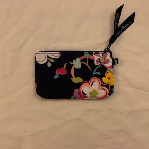 Vera Bradley Zip ID Case in Ribbons